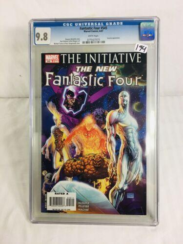 Fantastic Four #545 - CGC 9.8