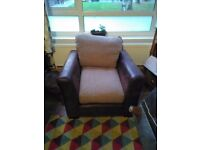Dfs madison sofa chair and swivel chair