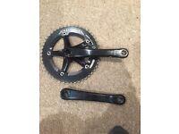 Miche Advanced Track Bike Chainring and Crankset