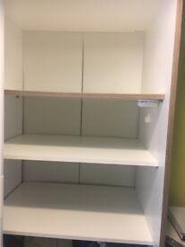 Ikea White TRYSIL Wardrobe