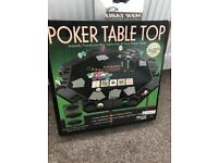 Poker table top - octagon shape