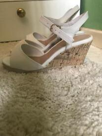 Size 4 and 4 bridesmaid shoes. 4 worn once 5 unworn