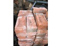 Reclaimed Victorian red bricks