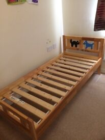 Child's ikea bed