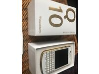 Blackberry Q10 limited edition still boxed