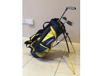 Junior Golf Club Set and Bag - for ages 8-12