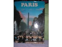 PARIS - HARDBACK 96 PAGE BOOK - FULL OF EXCELLENT PHOTO's OF PARIS V.G.C