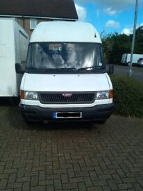 LDV CONVOY MINIBUS HIGH ROOF WHITE 17 SEATER WITH MOT