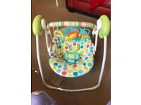 Chad valley circus friends portable swing for sale