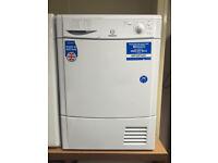 Indesit IDC8T3 8kg White Condenser Tumble Dryer 1 YEAR GUARANTEE