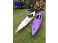 2 Kayaks For Sale + 1 Spray deck £60 Each