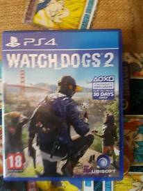 Watchdogs 2 for ps4