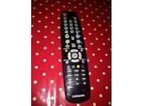 Samsung plasma TV remote
