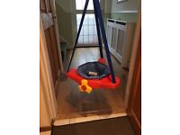 baby door bouncer swing - aeroplane