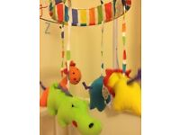 Red Kite baby musical mobile (jungle)
