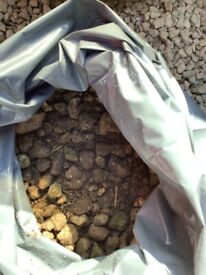 Cotswold Coloured Stone Chippings ( Reclaimed )