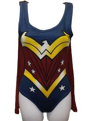 New Wonder Woman DC Originals Womens Costume Sizes S-L-XL-2XL Bodysuit - Womens Wonder Woman Kostüm