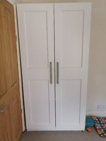 Pax IKEA wardrobe 100 x 35 x 201cm