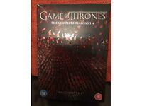 Game of Thrones box set season 1-4
