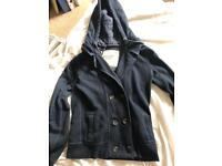 Abercrombie and Fitch navy blue jacket