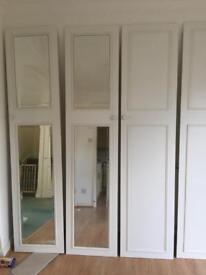 Wardrobe doors and mirrors