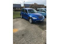 Blue Chrysler PT Cruiser 2.4l petrol car - great condition! £1100 ono - low mileage too!