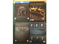 Game of Thrones Season 1 and 2 on DVD