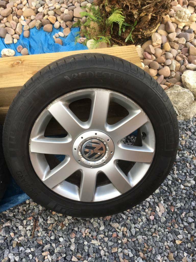 Vw alloy with tyres