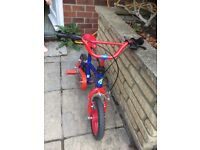 Kids bike age approx 4-5 years old