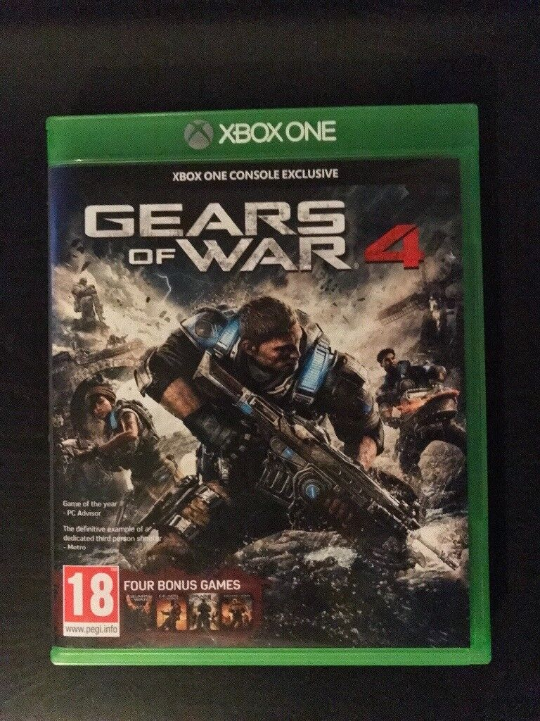 Mint condition Gears of War 4.