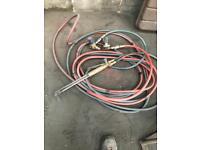 Gas & oxygen hoses & gun