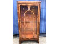 Old display cabinet FREE DELIVERY PLYMOUTH AREA