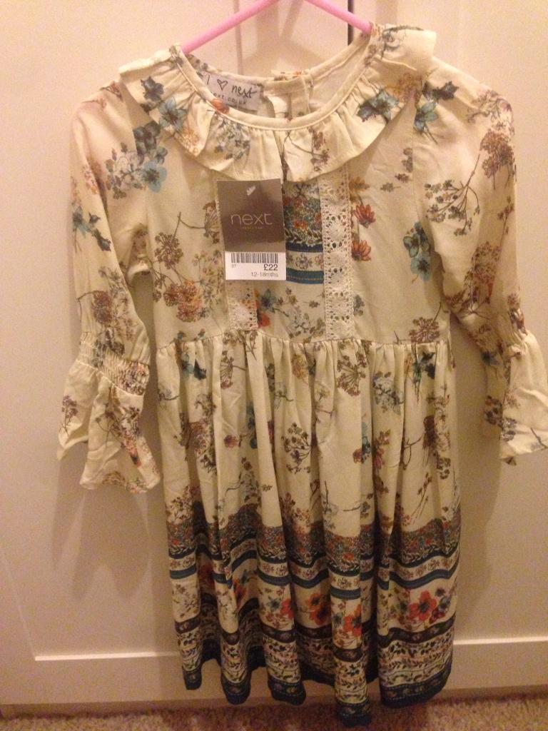 Next dress. Bnwt 12-18 months