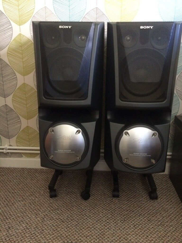 sony saw speakers ebay