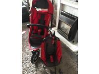 Phil & ted double / single jogger all terrain 3 wheel pram pushchair
