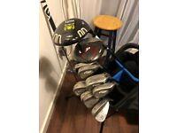 Golf clubs. Ideal starter set.
