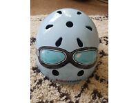 Kids 'Kiddi Moto' helmet bike bicycle scooter, quirky design, good condition
