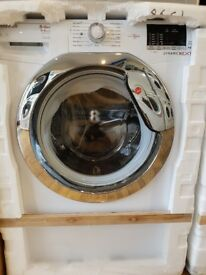 Hoover Dynamic Next WDXOC686C1 8kg Wash, 6kg Dry, 1600 Spin Washer Dryer With One Touch - White