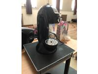 Dolce gusto Krups machine and coffee pod holder