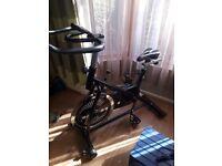 Exercise bike flywheel great condition