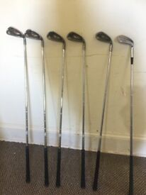 Second hand Right handed Ping G10 Irons (6-Pw), Wilson Augusta SW and Bag