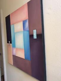 Large canvas print 80 x 80cm