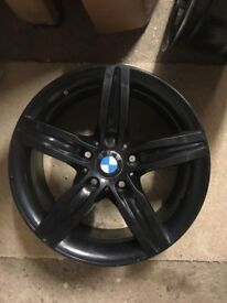 "Genuine BMW F20 F21 1-Series 17"" Sport Alloy Wheel Rims 6850151 7.5Jx17 IS43"