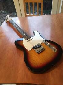 Westfield Telecaster style electric guitar & amp