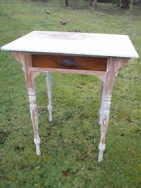 Table suitable for up-cycling