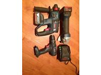 Bosch 18v kit in great condition.