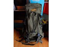 60L sturdy backpack/rucksack
