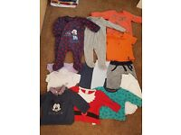 HUGE Baby Clothes Bundle 3-6 Months & New Pair of Croc Shoes / Sandles