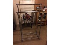 Grey Shelving With Adjustable Shelf Height As Per Photos
