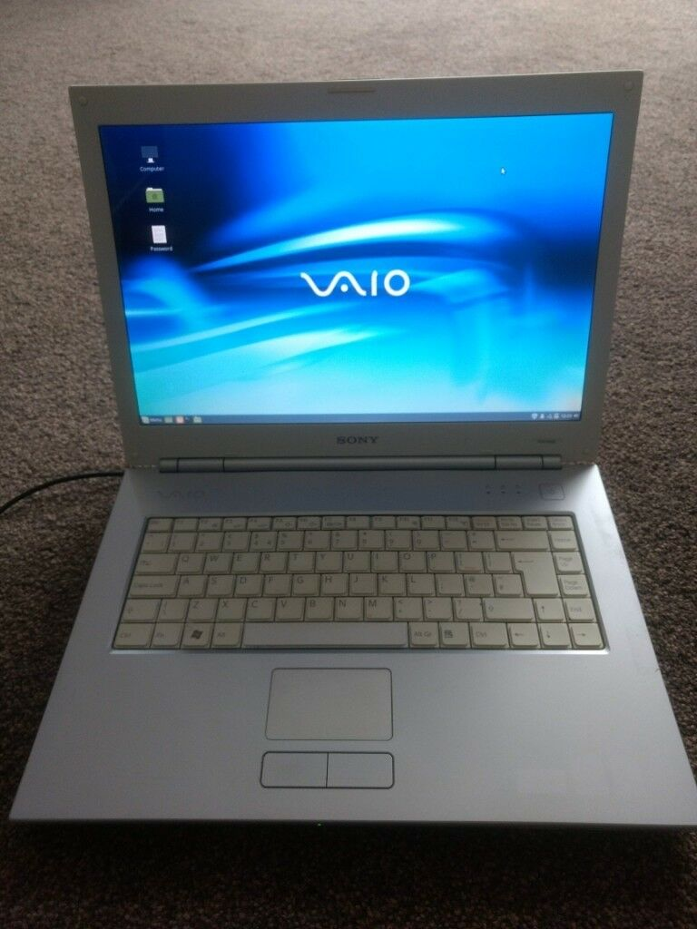 Sony VAIO VGN-N38E - 1 86GHz / 1GB RAM / 120GB HDD / LINUX MINT | in Poole,  Dorset | Gumtree